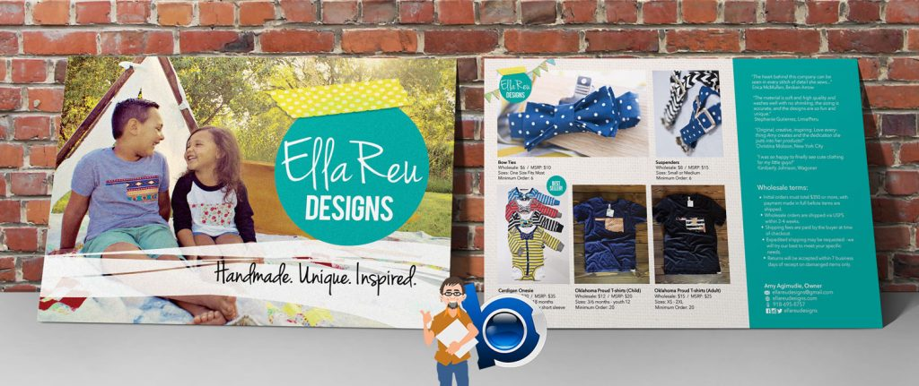 EllaReuDesigns | Price List Postcards